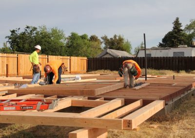 Golden State Construction and Framing builds for Habitat for Humanity